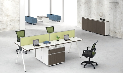 贵州实验室装修告诉你屏风办公桌和屏风卡位的优缺点对比