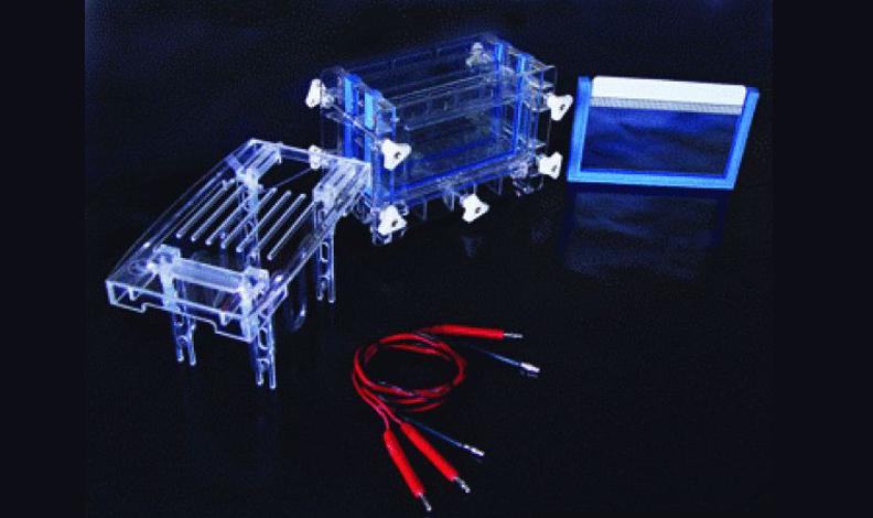双板夹芯式垂直注塑电泳仪